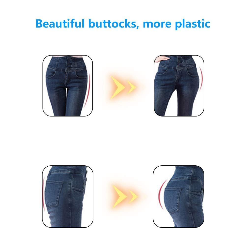 Home Office Dual Comfort Cushion Lift Hips Up Seat Cushion Beautiful Butt Latex Buttocks Seat Cushion Orthopedic Memory Foam Support Cushion for Lower Back Tailbone and Sciatica Relief in Car Seat