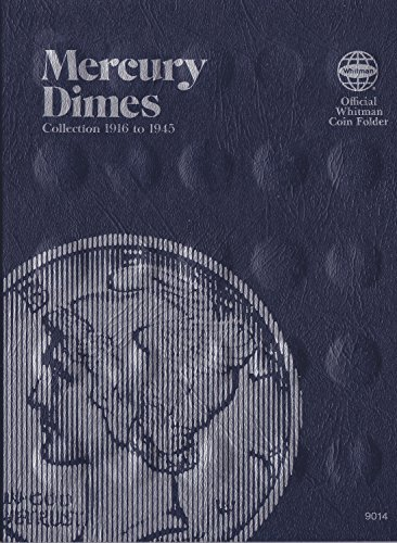 Whitman Mercury Dime Folder (1916-1945) #9014 by Whitman Coins