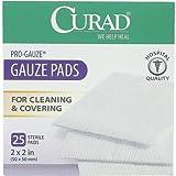 Curad Non-Woven Pro-Gauze Pads 2x2 in. 6 pcs sku# 1895670MA