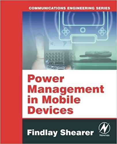 Book Power Management in Mobile Devices (Communications Engineering) by Findlay Shearer (2007-12-21)