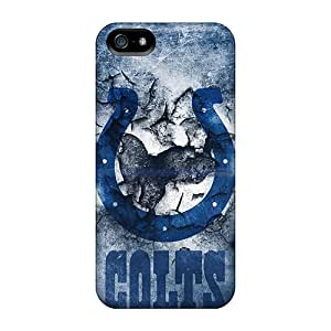 Excellent Hard Phone Cover For Iphone 5/5s With Support Your Personal Customized Colorful Indianapolis Colts Image ErleneRobinson