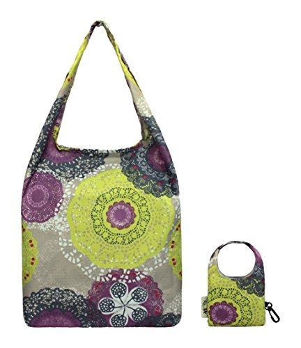 Doily Handle Adult Top Unisex Multicolour Re Shopping Water Resistant Bag Uz 0OvPnU