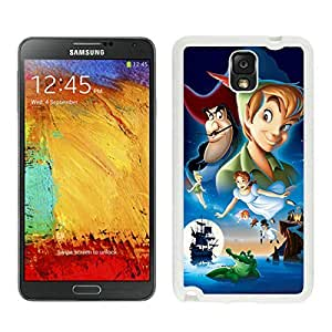 Samsung Note 3 Case,2015 Hot New Fashion Stylish peter pan White Case Cover for Samsung Note 3