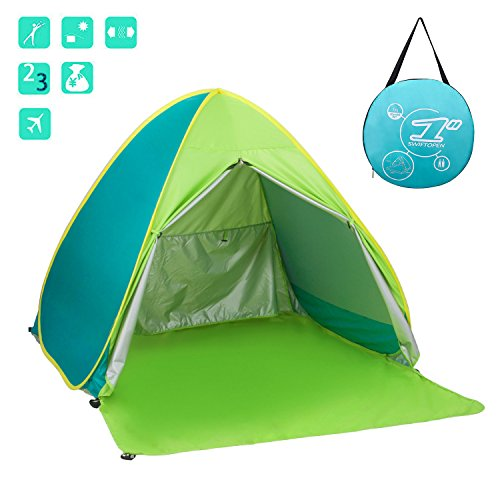 Size 64.96u2033 x 59.06u2033x 43.30u2033 (165 x 150 x 110 cm) Material 190T UV Protection Waterproof Fabric Outside Tent UV protection levels u003e50 UPF Building Type ...  sc 1 st  Tents & Ylovetoys Outdoor Automatic Pop Up Beach Tent Portable Cabin ...