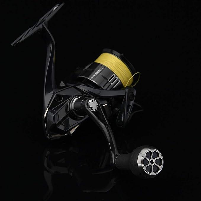 GOMEXUS TPE Rubber Power Knob Compatible for Shimano Daiwa Spinning Baitcasting Reel Handle Knob 27mm