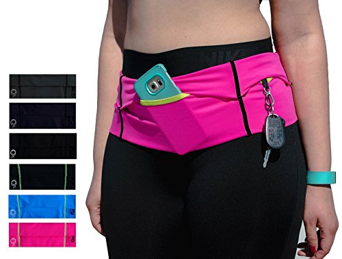 Stay Fit Running Belt. Made to meet the demanding needs of the serious long distance runner! Made for women! Made In USA!