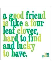 Acquisition 1 X A Good Friend Is Like A Four Leaf Clover Quotable Magnet deal