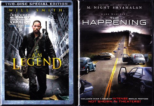 I Am Legend , The Happening : End Of World 2 Pack Collection