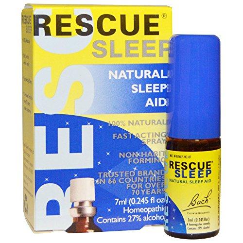 Rescue Sleep Spray - Bach Rescue Remedy, Natural Sleep Aid, Spray 0.25 fl oz