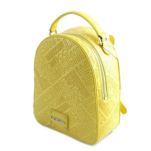 Sac Jaune taille jaune Moschino pour Love unique à main femme PTnvqw