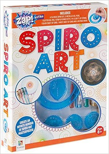 Spiro Art Spirograph Stencils Kaleidoscope Artwork Unique Gift! NEW Zap Extra