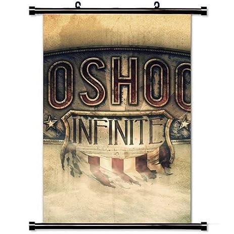 Wall Scroll Poster With Bioshock Infinite Columbia America Irrational Games  Bioshock Infinite Video Games Home Decor