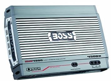 Boss Onyx - Amplificador monoblock Clase D con Mando a Distancia