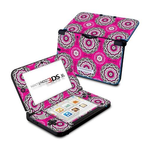 (Boho Girl Medallions - DecalGirl Sticker Wrap Skin Compatible with Nintendo Original 3DS XL)