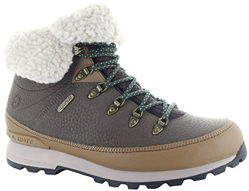 Women's Brown Tec Waterproof Shoes I Hi Espresso Kono qUv4wx8