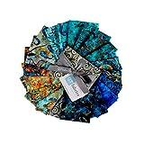 QT Fabrics Evolution Oceana 19 pc Fat Quarter Bundle Multi