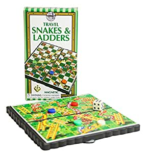 Magnetic Snakes and Ladders