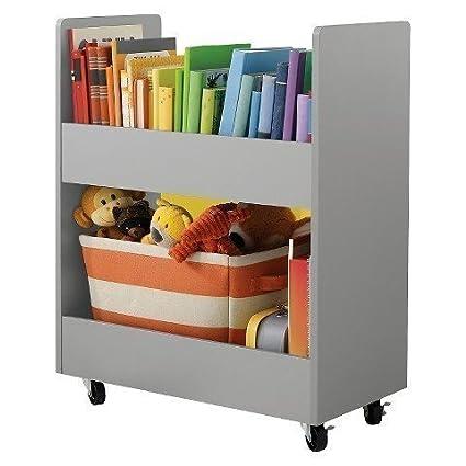 Circo Childrens Toy Rolling Storage Organizer Cart With Paper Veneer