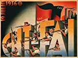 WAR SPANISH CIVIL 19 JULY 1936 CNT FAI REPUBLICAN OUTBREAK SPAIN POSTER 2768PY