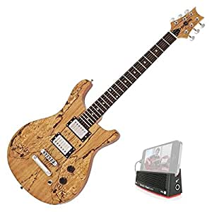 Pasadena Electric Guitar by Gear4music Maple with iTrack Pocket ...