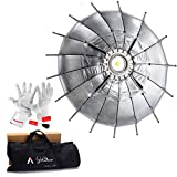 Aputure Light Dome Mini 27 Inch Softbox for Aputure Lightstorm COB 120d 120t LS 300 and Other Bowens Mount LED Lights - With PERGEAR Cleaning Kit