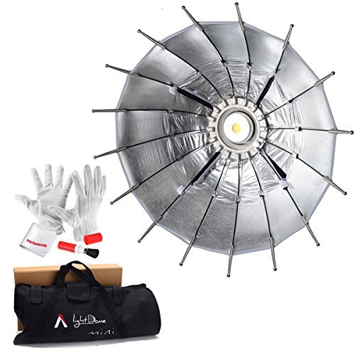 Aputure Light Dome Mini 27 Inch Softbox for Aputure Lightstorm COB 120d 120t LS 300 and Other Bowens Mount LED Lights - With PERGEAR Cleaning Kit by Aputure