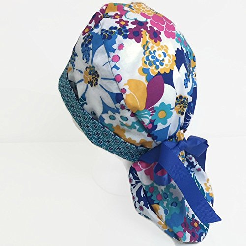 Ponytail Scrub Hat Playful