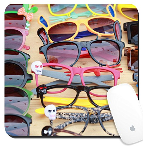 Luxlady Suqare Mousepad 8x8 Inch Mouse Pads/Mat design IMAGE ID: 25353305 Shop colorful eyewear in the market