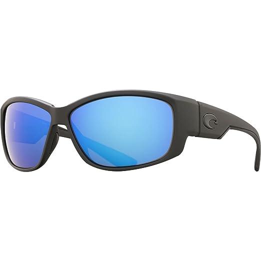 a8fc0f93cfde Amazon.com: Costa Del Mar Luke 400G Luke, Blackout Blue Mirror, Blue ...