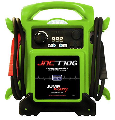 Clore Automotive JNC770G w/Cover Green Premium 12V Jump Starter (1700 Peak Amp)