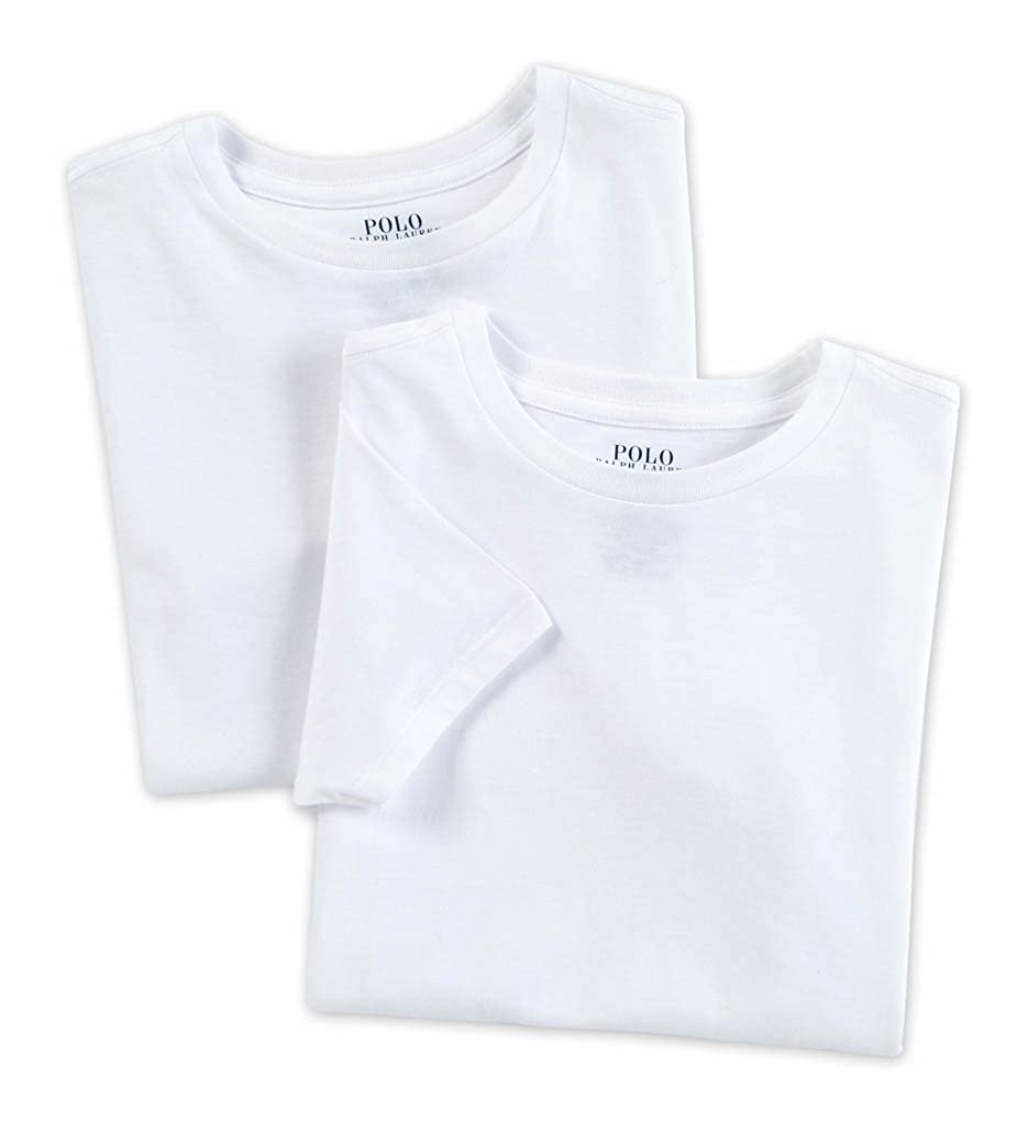Polo Ralph Lauren Kids/Boys 2 Pack Crew Neck Undershirt PKURK01