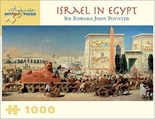 Pomegranate Israel in Egypt 1000 Piece Sir Edward John Poynter Jigsaw Puzzle