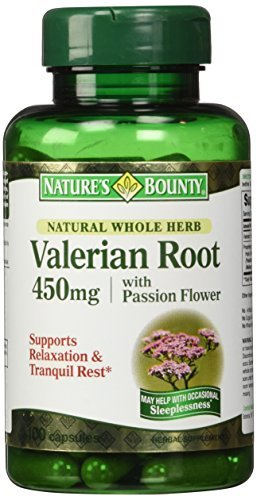 Nature's Bounty Valerian Root 450 mg Capsules 100 CP - Buy Packs and Save (Pack of 3)