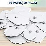 NURSAL 20 Pack TENS Electrodes, Reusable