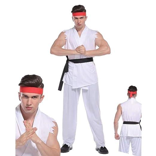 Adulto Hombre Street Fighter Disfraz Kárate Niño RYU ...