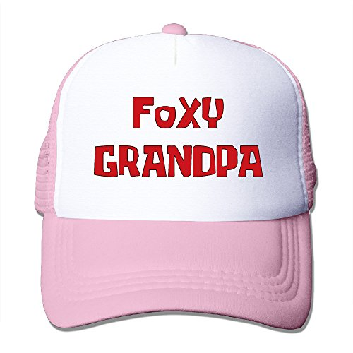 Foxy Grandpa Unisex Mesh Truck Hat Caps Outdoor Sports (5 Colors)