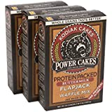 Kodiak Cakes Power Cakes, All Natural, Non GMO Protein Pancake, Flapjack and Waffle Mix, Buttermilk, 20 Ounce (Pack of 3) - Packaging may vary