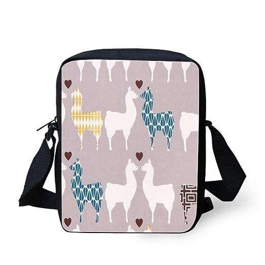 d1efa4ba90f3 Amazon.com: WEKJNskeee Grey monaluna Llama Alpaca Love Custom ...