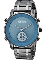 Kenneth Cole REACTION Mens Quartz Metal and Stainless Steel Casual Watch, Color:Grey (Model: RK50083006)