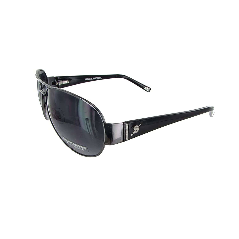 Lunettes de soleil de mode du navigateur SK 8005 des hommes, Gunmetal