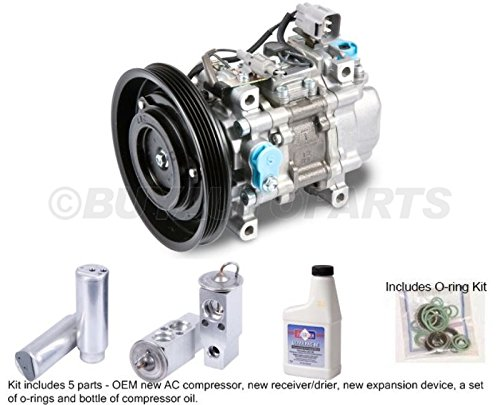 Ac Paseo Compressor Toyota - New Genuine OEM AC Compressor & Clutch + A/C Repair Kit For Toyota Paseo Tercel - BuyAutoParts 60-84647RN New