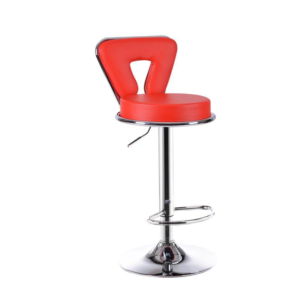 XUEPING バースツール/チェア カウンターチェア 回転する リフト 事務用椅子 キッチン レストランバーベンチ/チェア 高めの椅子 9色 (色 : H h, サイズ さいず : One) B07CWJC1NW One H h H h One