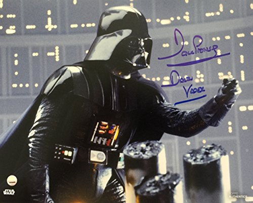 Dave Prowse Signed 8x10 Star Wars Darth Vader I Am Your Father Photo Steiner COA