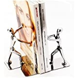 1Pair Stainless Steel Man bookends bookends Gift
