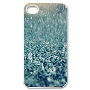Rain Customized Cover Case with Hard Shell Protection for Iphone 4,4S Case lxa829004
