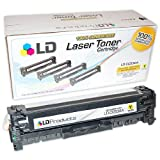 LD © Remanufactured Yellow CC532A Laser Toner Cartridge for Hewlett Packard (HP) CM2320/CP2025, Office Central