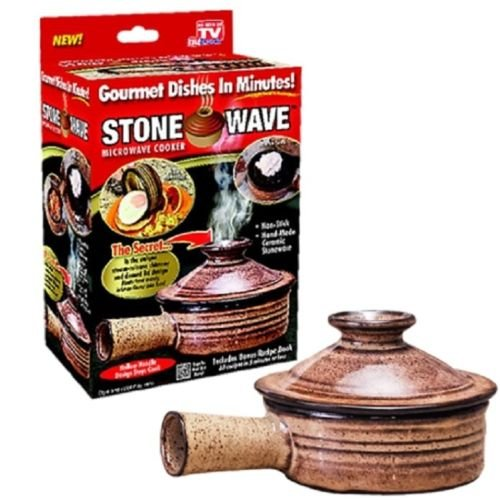- Telebrands Stone Wave Micro Cooker