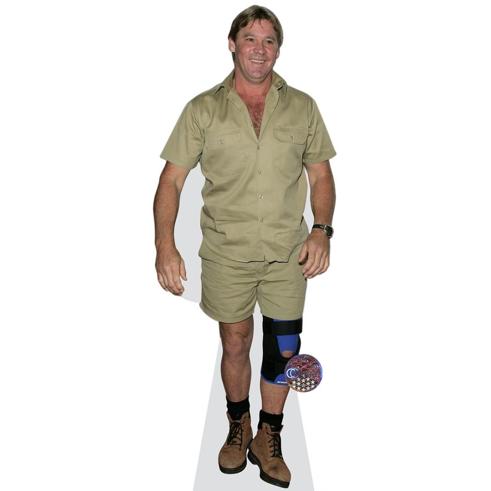Steve Irwin Life Size Cutout