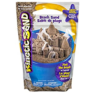 Kinetic Sand - Beach Sand - 51FxYO ag0L - Kinetic Sand 3 Pounds Beach Sand (Packaging May Vary)