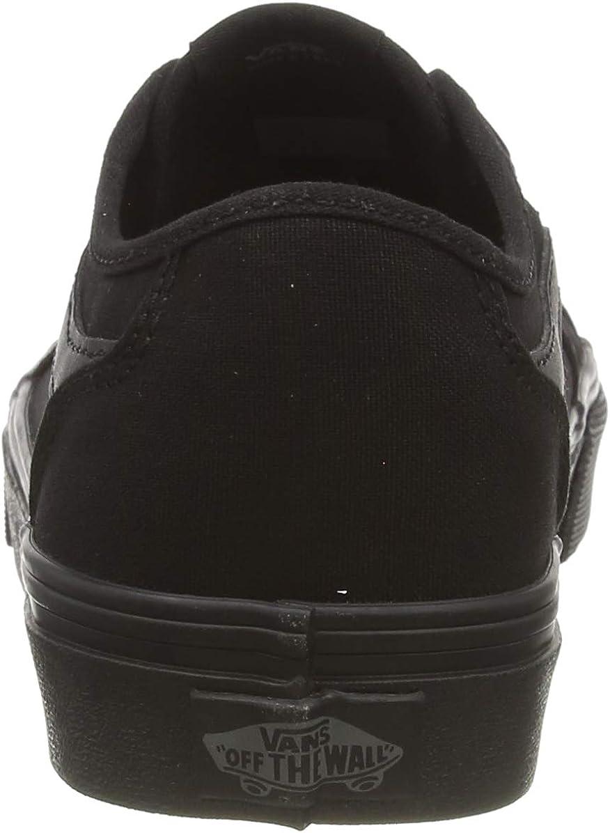 Vans Filmore Decon, Baskets Femme Noir Canvas Black Black